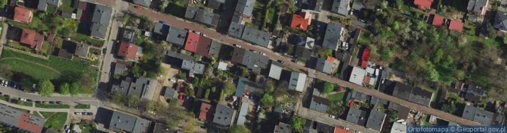 Zdjęcie satelitarne Pszenna ul.