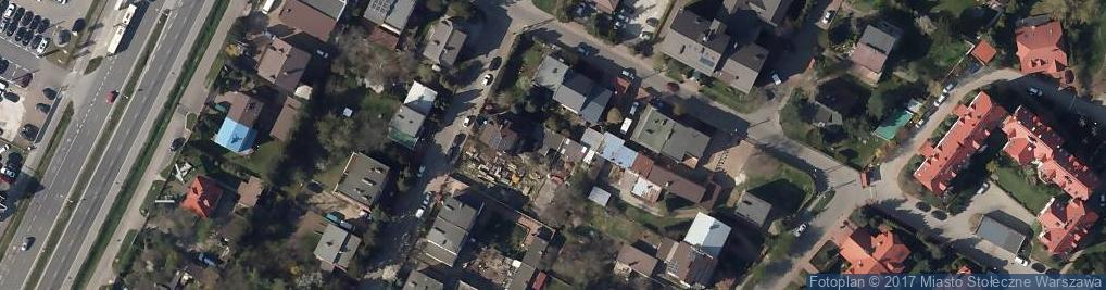 Zdjęcie satelitarne Pszczyńska ul.