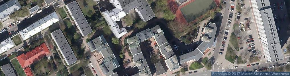 Zdjęcie satelitarne Ptasia ul.