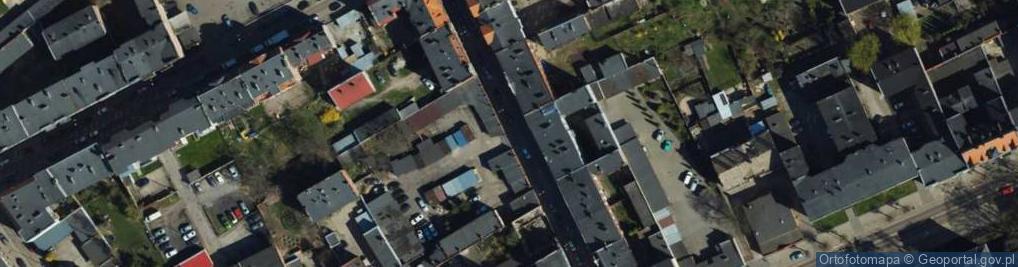 Zdjęcie satelitarne Pułaskiego ul.