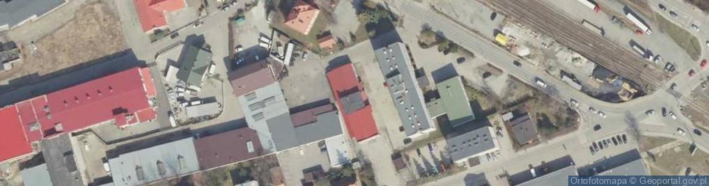 Zdjęcie satelitarne Pużaka Kazimierza ul.