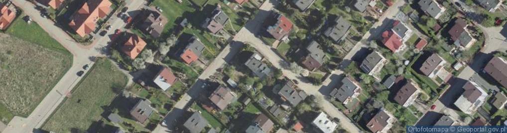 Zdjęcie satelitarne Rakietowa ul.