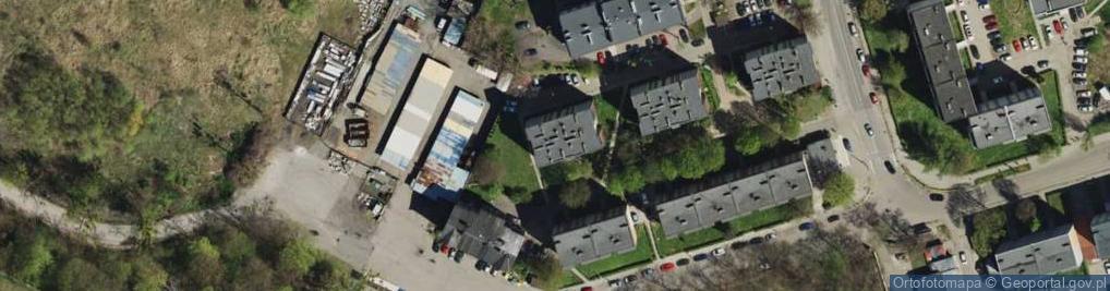 Zdjęcie satelitarne Racjonalizatorów ul.