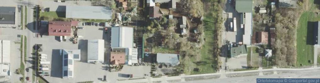 Zdjęcie satelitarne Rampa Brzeska ul.