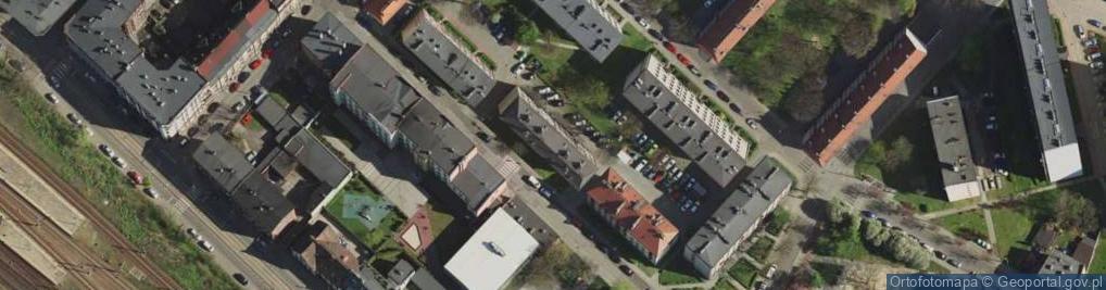 Zdjęcie satelitarne Ratuszowa ul.
