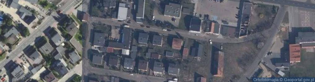 Zdjęcie satelitarne Rataja ul.