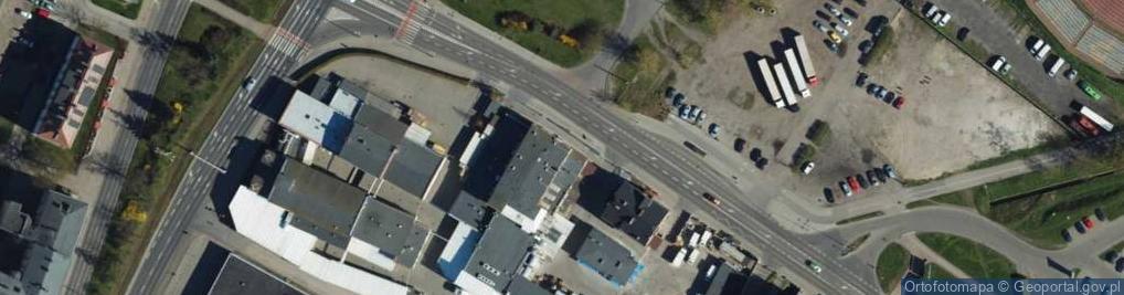 Zdjęcie satelitarne Rapackiego ul.