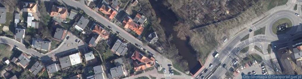 Zdjęcie satelitarne Radomska ul.