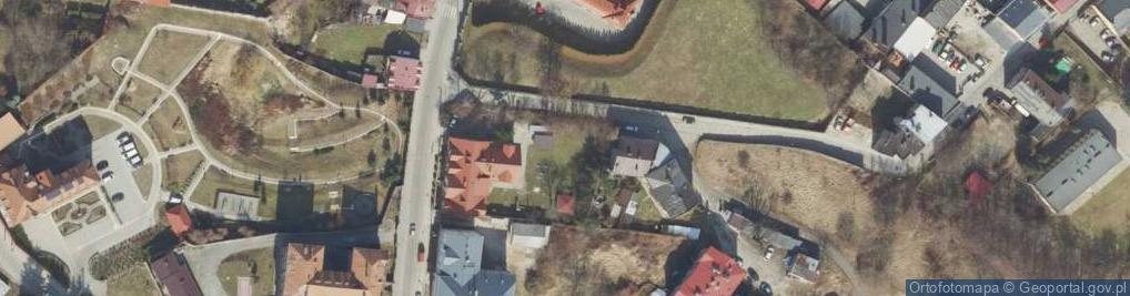 Zdjęcie satelitarne Rakoczego ul.