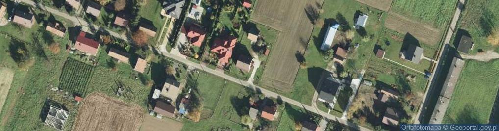 Zdjęcie satelitarne Radlna ul.