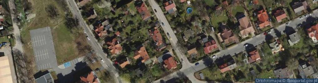 Zdjęcie satelitarne Racławicka ul.