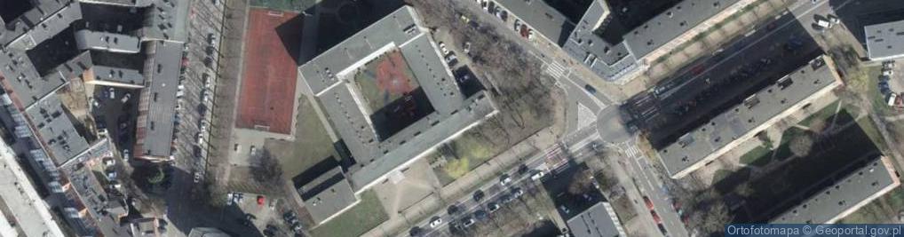 Zdjęcie satelitarne Rayskiego Ludomiła, gen. ul.