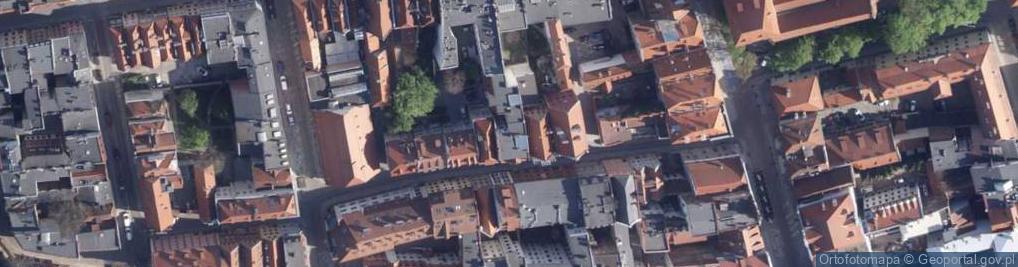 Zdjęcie satelitarne Rabiańska ul.