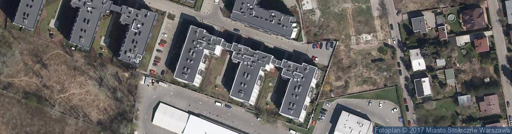 Zdjęcie satelitarne Rakowska ul.