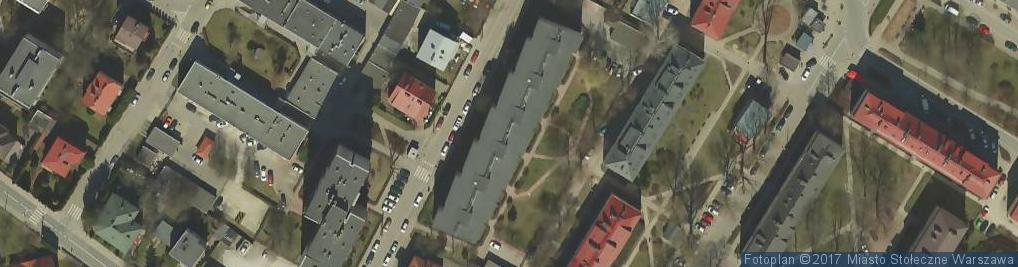 Zdjęcie satelitarne Rakietników ul.