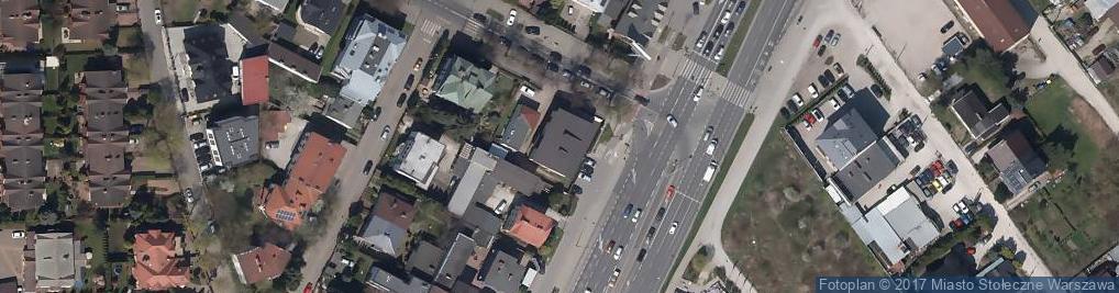 Zdjęcie satelitarne Radzymińska ul.