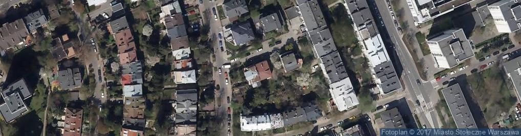 Zdjęcie satelitarne Radziłowska ul.