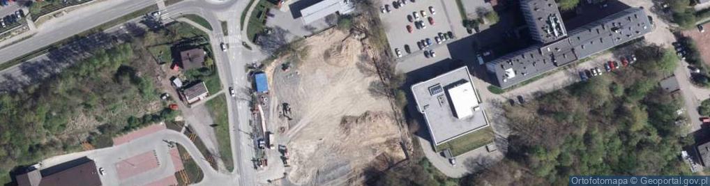 Zdjęcie satelitarne Radlińska ul.