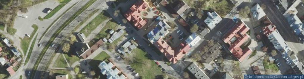 Zdjęcie satelitarne Reformacka ul.