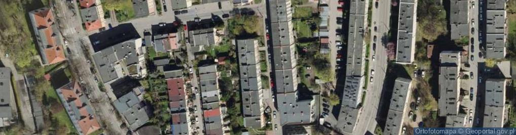 Zdjęcie satelitarne Reja Mikołaja ul.