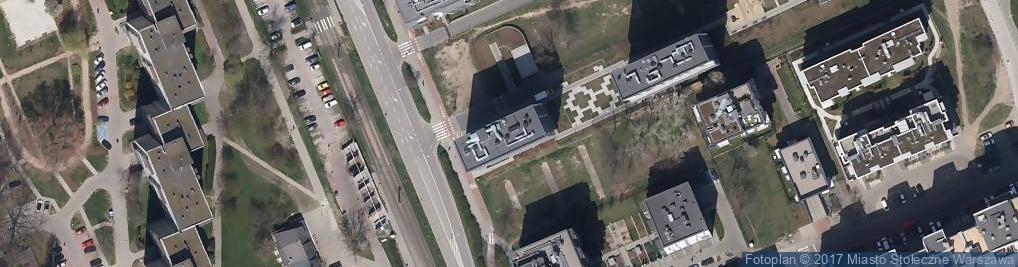 Zdjęcie satelitarne Rembielińska ul.