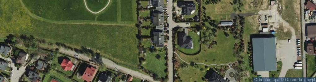 Zdjęcie satelitarne Rokitnicka ul.