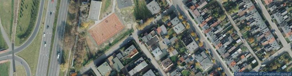 Zdjęcie satelitarne Roentgena Wilhelma ul.