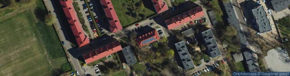 Zdjęcie satelitarne Roty Grudziądzkiej ul.