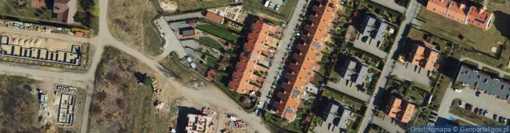 Zdjęcie satelitarne Rożanowicza Stanisława ul.