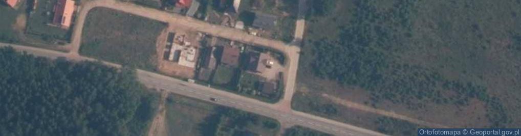 Zdjęcie satelitarne Robakowska ul.