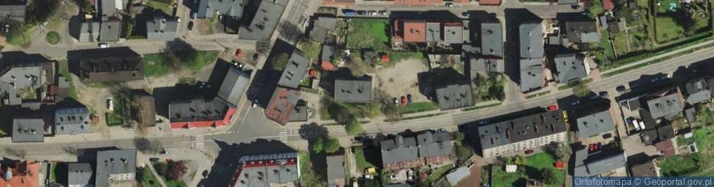 Zdjęcie satelitarne Roździeńskiego Walentego ul.