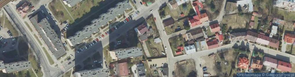 Zdjęcie satelitarne Rodziewiczówny Marii ul.