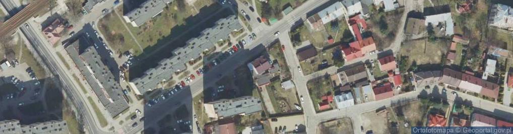 Zdjęcie satelitarne Rogozińskiego Stefana ul.
