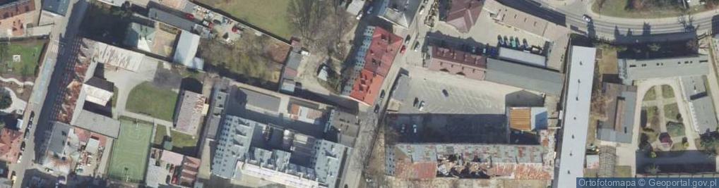 Zdjęcie satelitarne Rokitniańska ul.