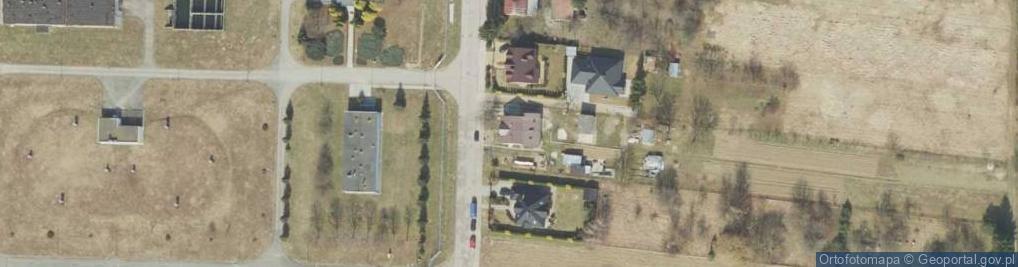 Zdjęcie satelitarne Rosłońskiego Romualda ul.