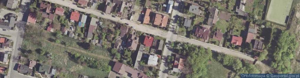 Zdjęcie satelitarne Równa ul.