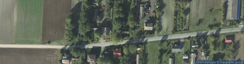 Zdjęcie satelitarne Rożdżałów ul.