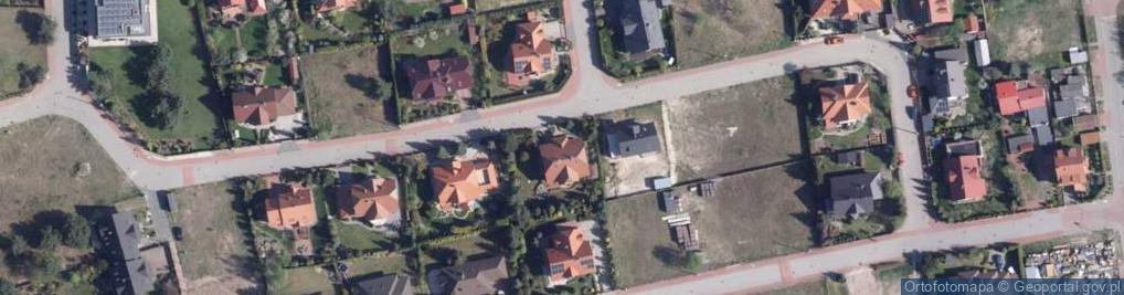 Zdjęcie satelitarne Rodzynkowa ul.