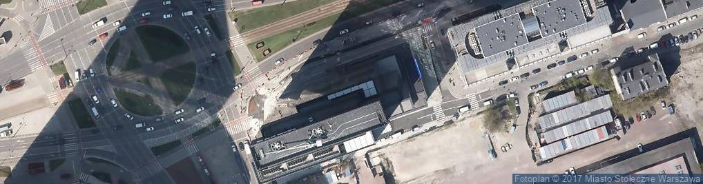 Zdjęcie satelitarne Rondo Daszyńskiego Ignacego rondo.