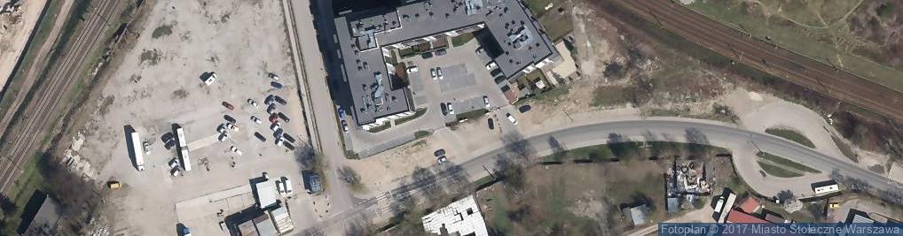 Zdjęcie satelitarne Równoległa ul.