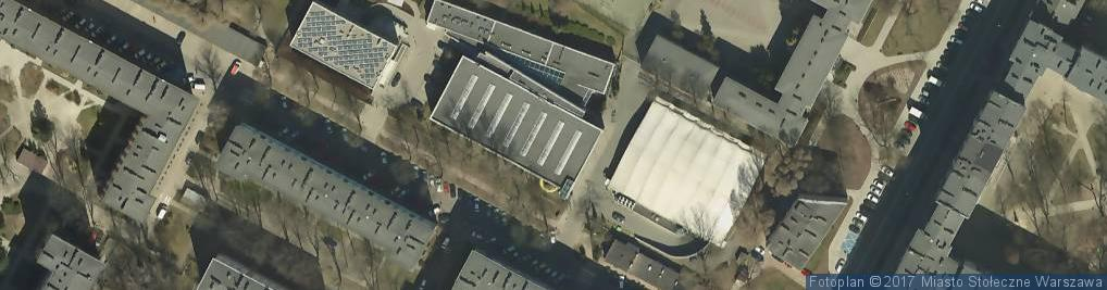 Zdjęcie satelitarne Rokosowska ul.
