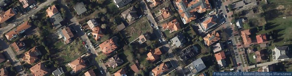Zdjęcie satelitarne Rotmistrzowska ul.