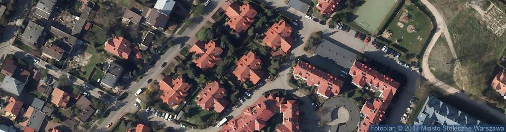 Zdjęcie satelitarne Róży Wiatrów ul.