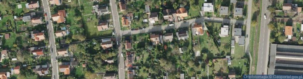 Zdjęcie satelitarne Rochowiaka Stanisława ul.