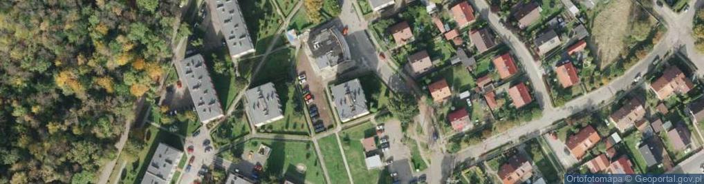Zdjęcie satelitarne Rogera Juliusza ul.