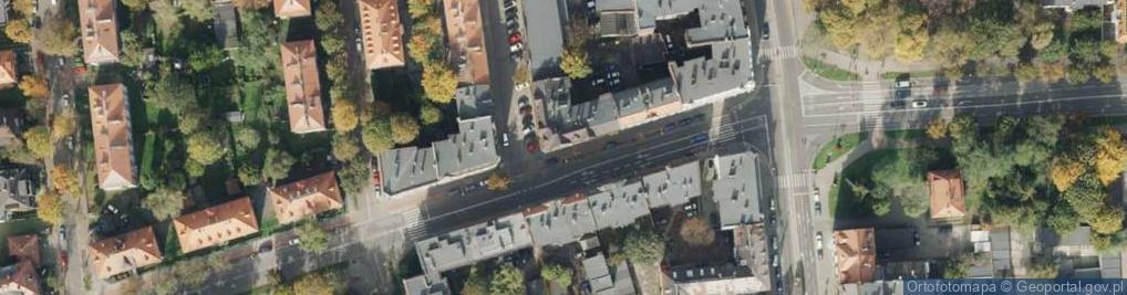 Zdjęcie satelitarne Roosevelta Franklina Delano ul.