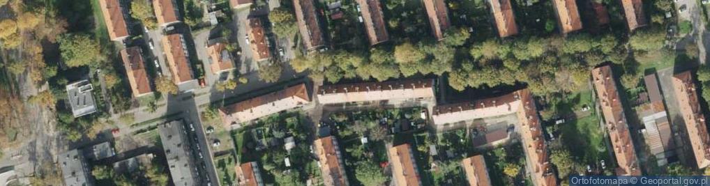 Zdjęcie satelitarne Różańskiego Bolesława, dr. ul.