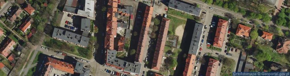 Zdjęcie satelitarne Rudzkiego Józefa ul.