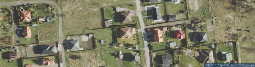 Zdjęcie satelitarne Rusałki ul.