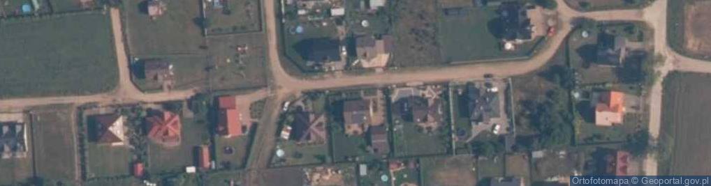 Zdjęcie satelitarne Rubinowa ul.